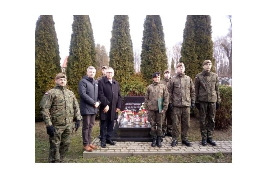 Uroczystości w ramach Dnia Żołnierzy Wyklętych w Mazańcowicach / fot. mat.pras.