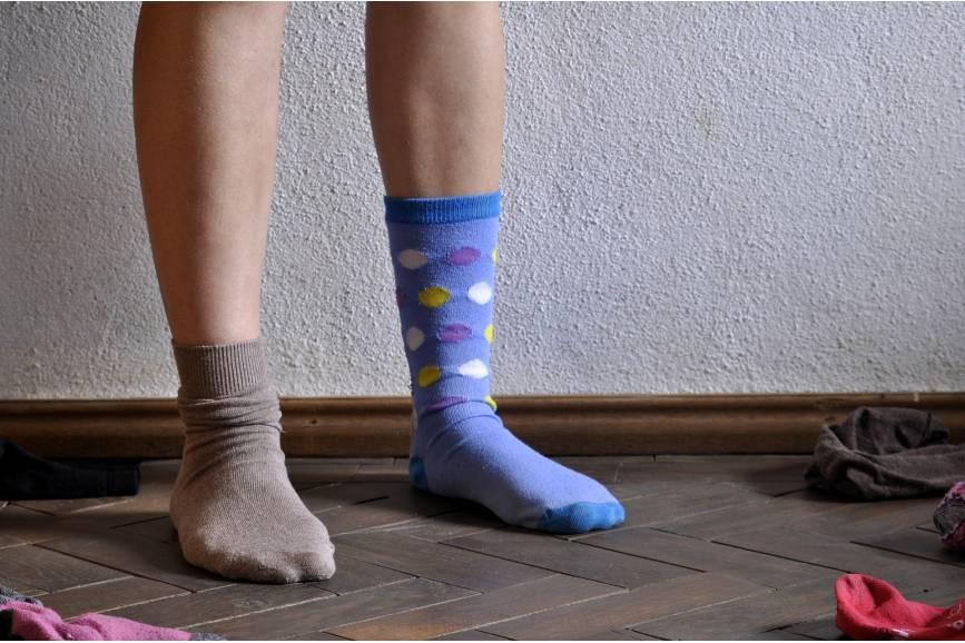 Dziś nosimy skarpetki nie do pary. To znak solidarności z osobami z zespołem Downa. Fot: Pixabay.com