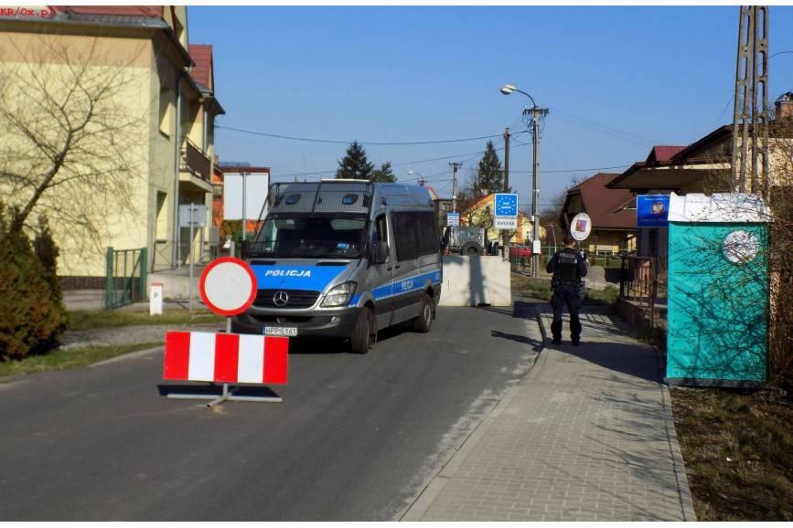 Przejście graniczne w Kaczycach. Fot. KR/ox.pl