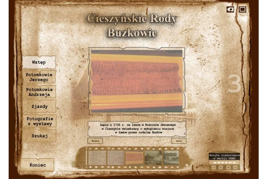 screen z wystawy on-line