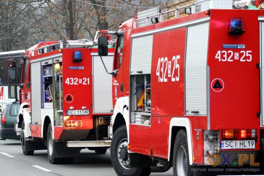 Dwie straże pożarne