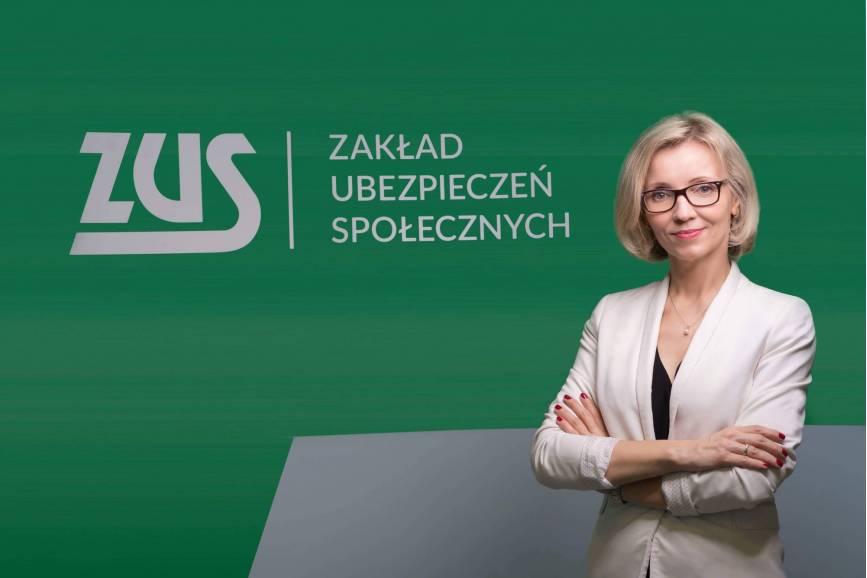 Beata Kopczyńska. Fot. Zakład Ubezpieczeń Społecznych