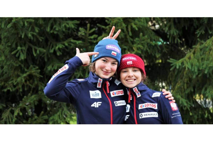 Kinga Rajda i Kamila Karpiel. Źródło: pzn.pl